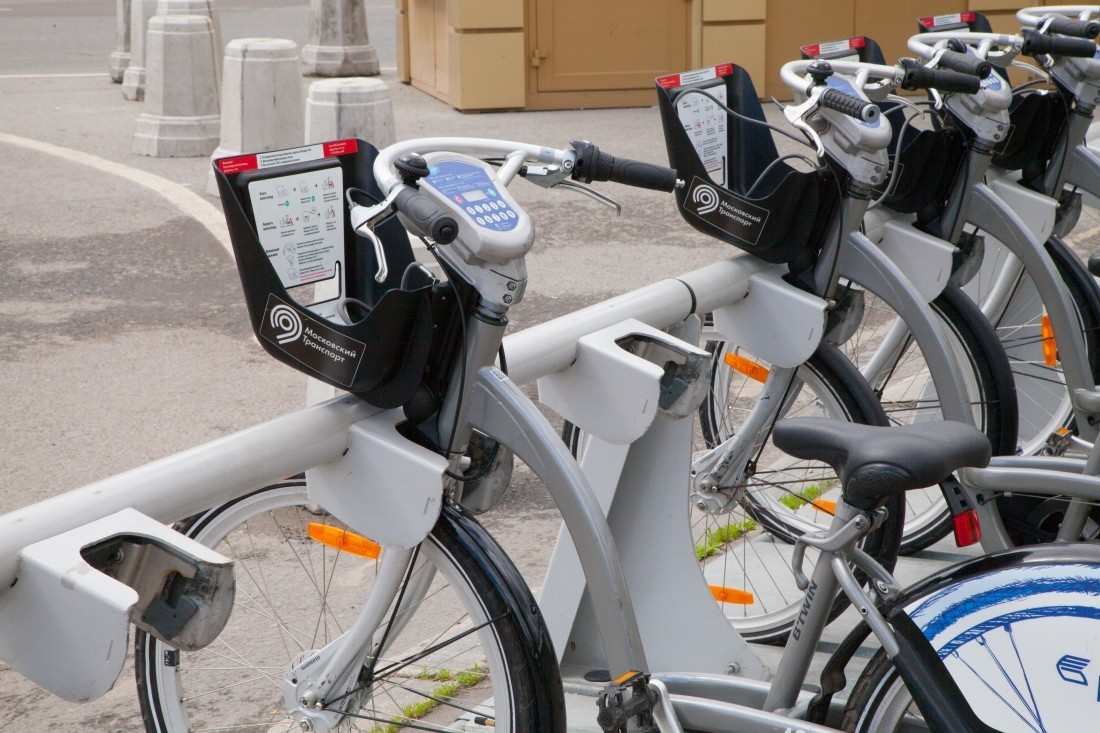 25апреля в столице России раскроются станции велопроката