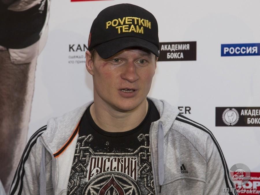Александр Поветкин опредстоящем бое сПрайсом