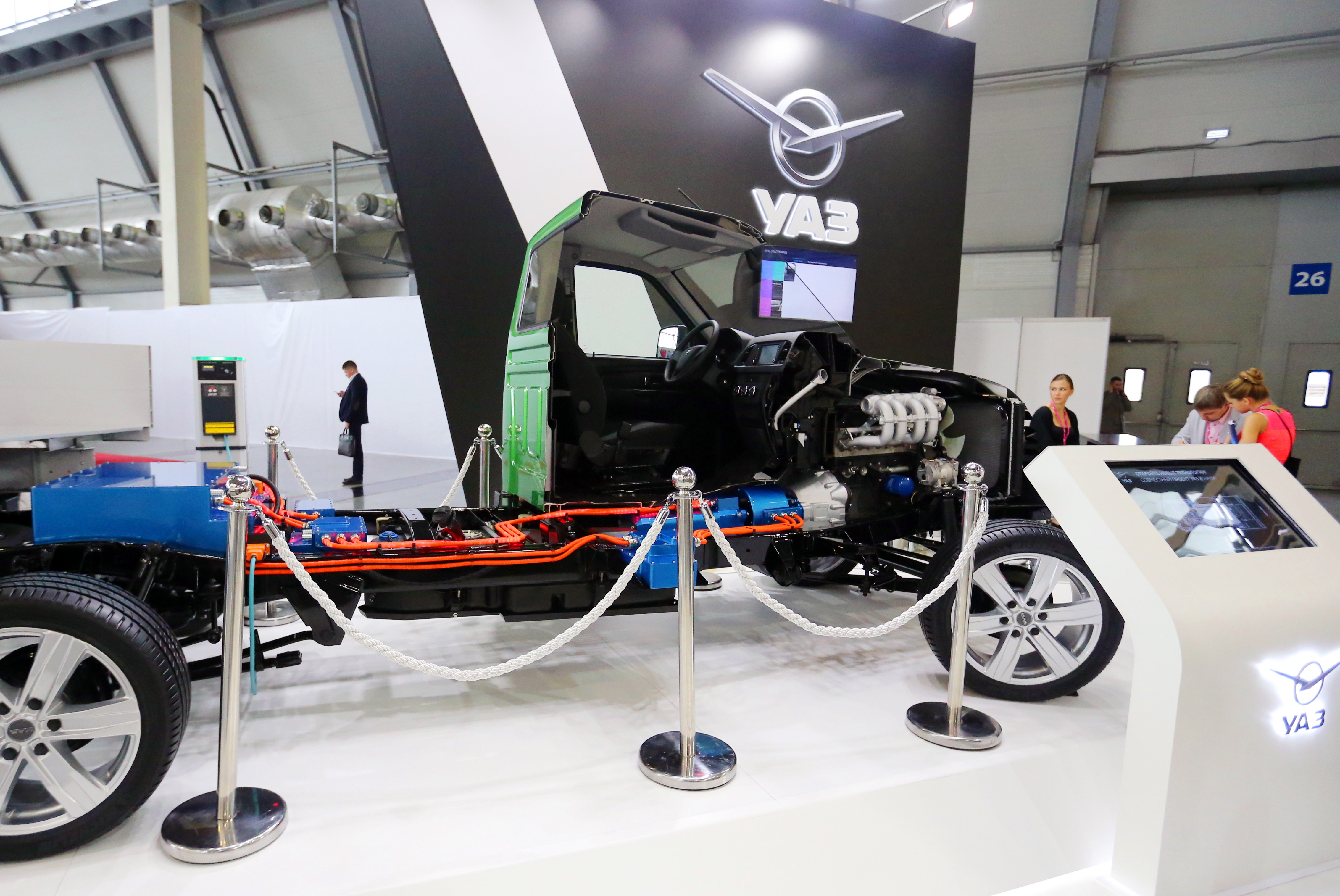 УАЗ собирается выпустить гибридное авто к 2021