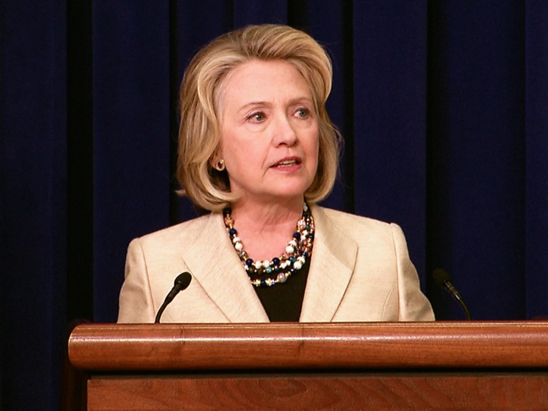 Хиллари Клинтон передала освоем желании руководить социальной сетью фейсбук