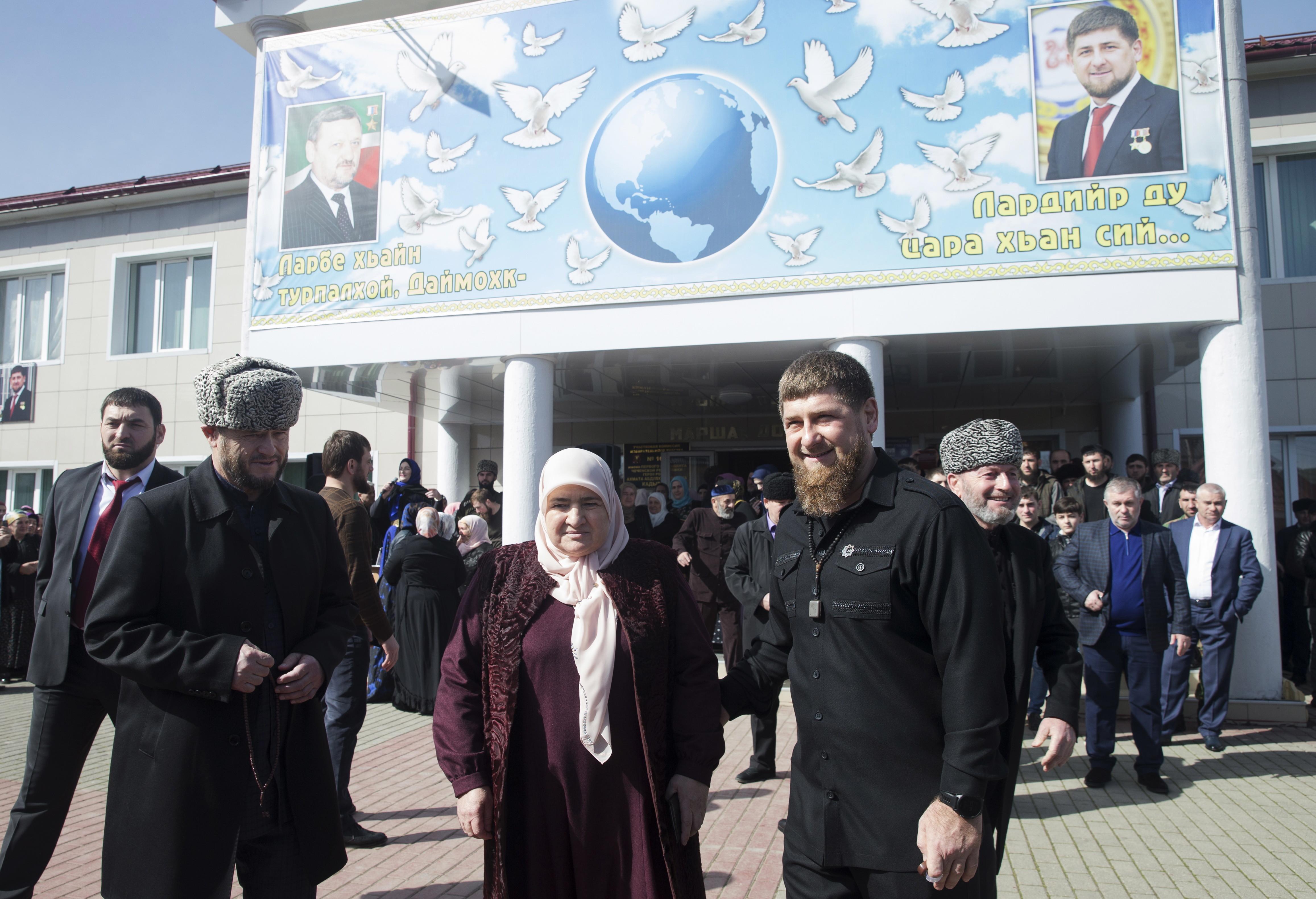 Кадыров рассказал обобстановке навыборах Президента Российской Федерации вЧечне