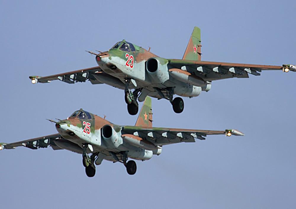 ВПриморье штурмовику Су-25 присвоили имя погибшего летчика Филипова