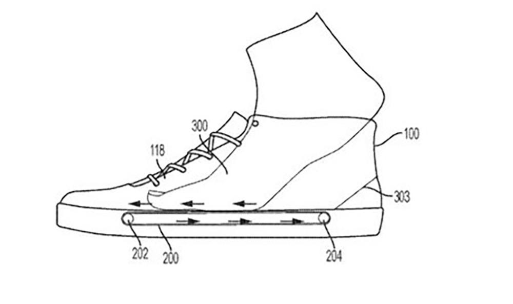 Nike выпустят кроссовки сконвейером вподошве