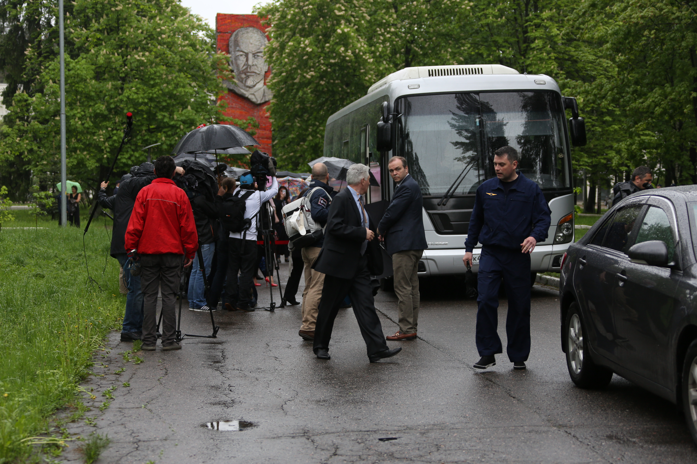 Новый экипаж МКС проводили на «Байконур» (ФОТО)