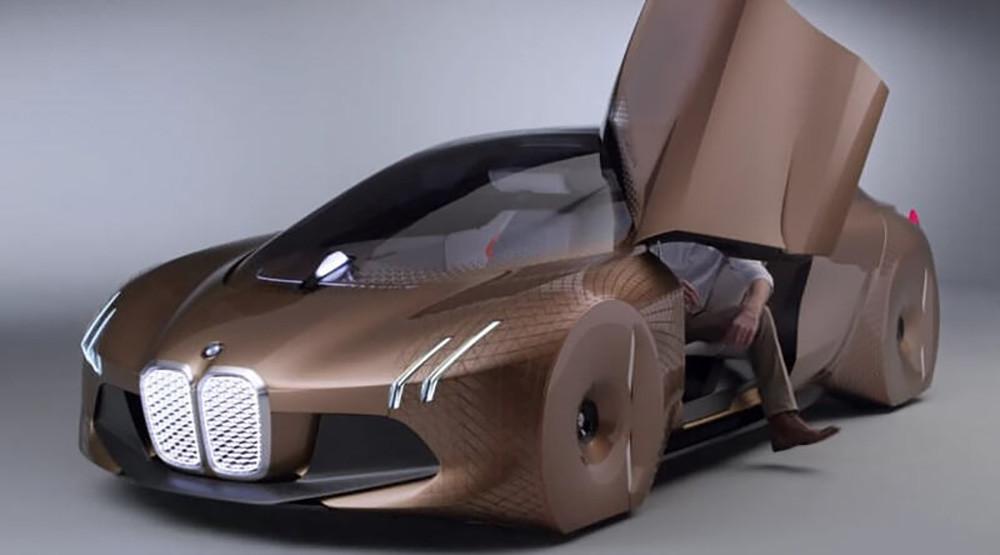 1-ый беспилотник БМВ iNEXT появится в 2021г