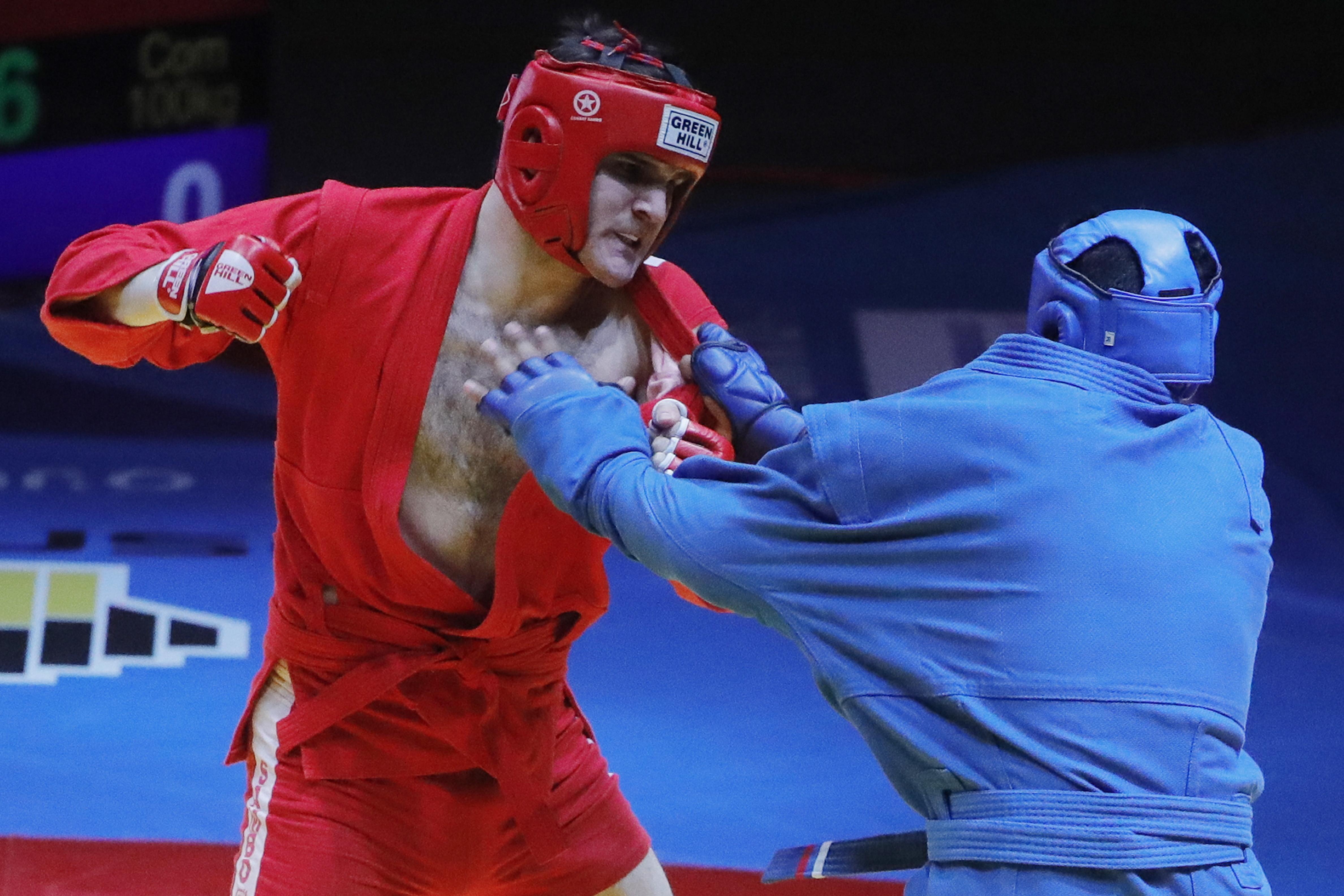 Сборная РФ в 1-ый день чемпионата Европы посамбо завоевала три золота