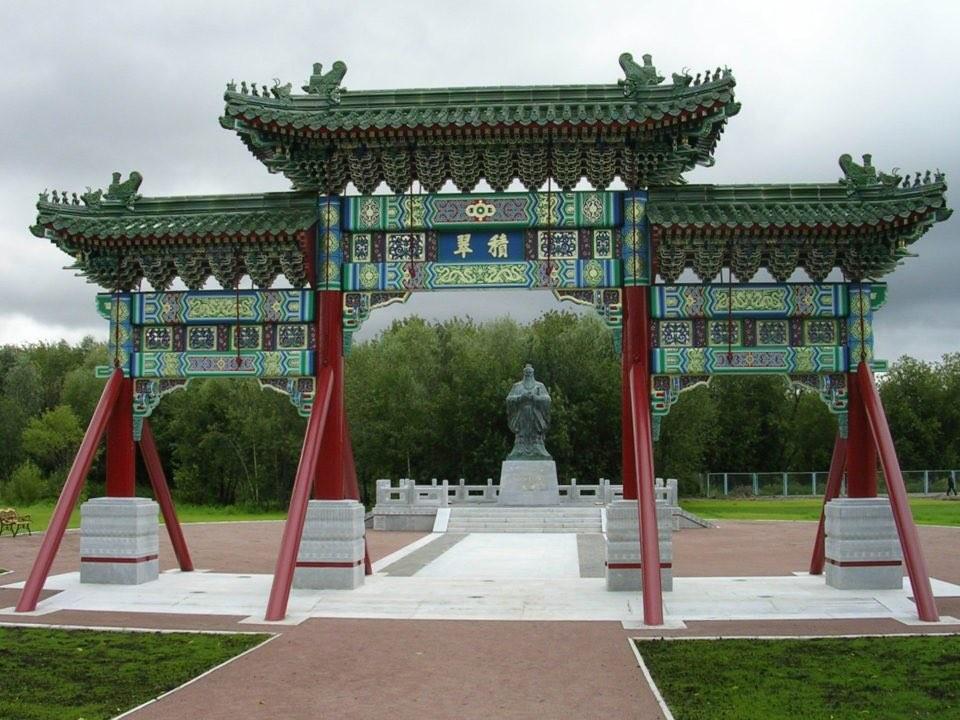 Вкитайском парке наокраине Останкина высадят неменее 400 деревьев