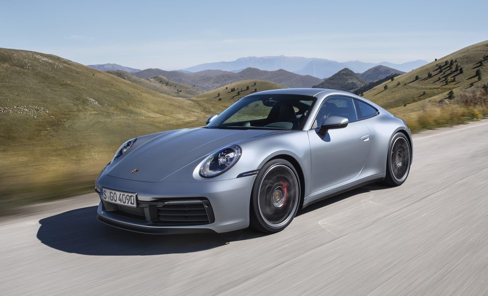 Немцы представили в Лос Анджелесе новое поколение легендарного Porsche 911