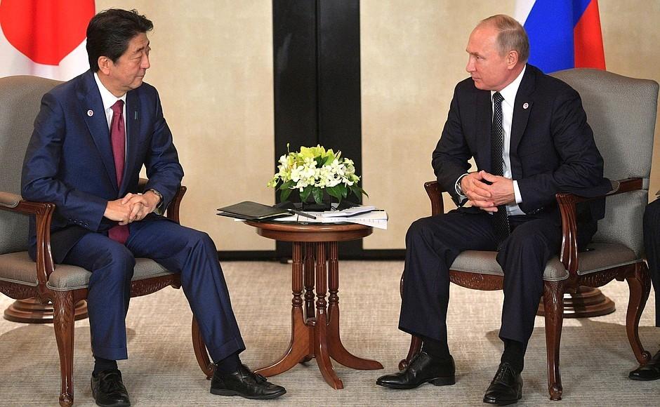 Песков Путин и Абэ активизируют переговоры по мирному договору