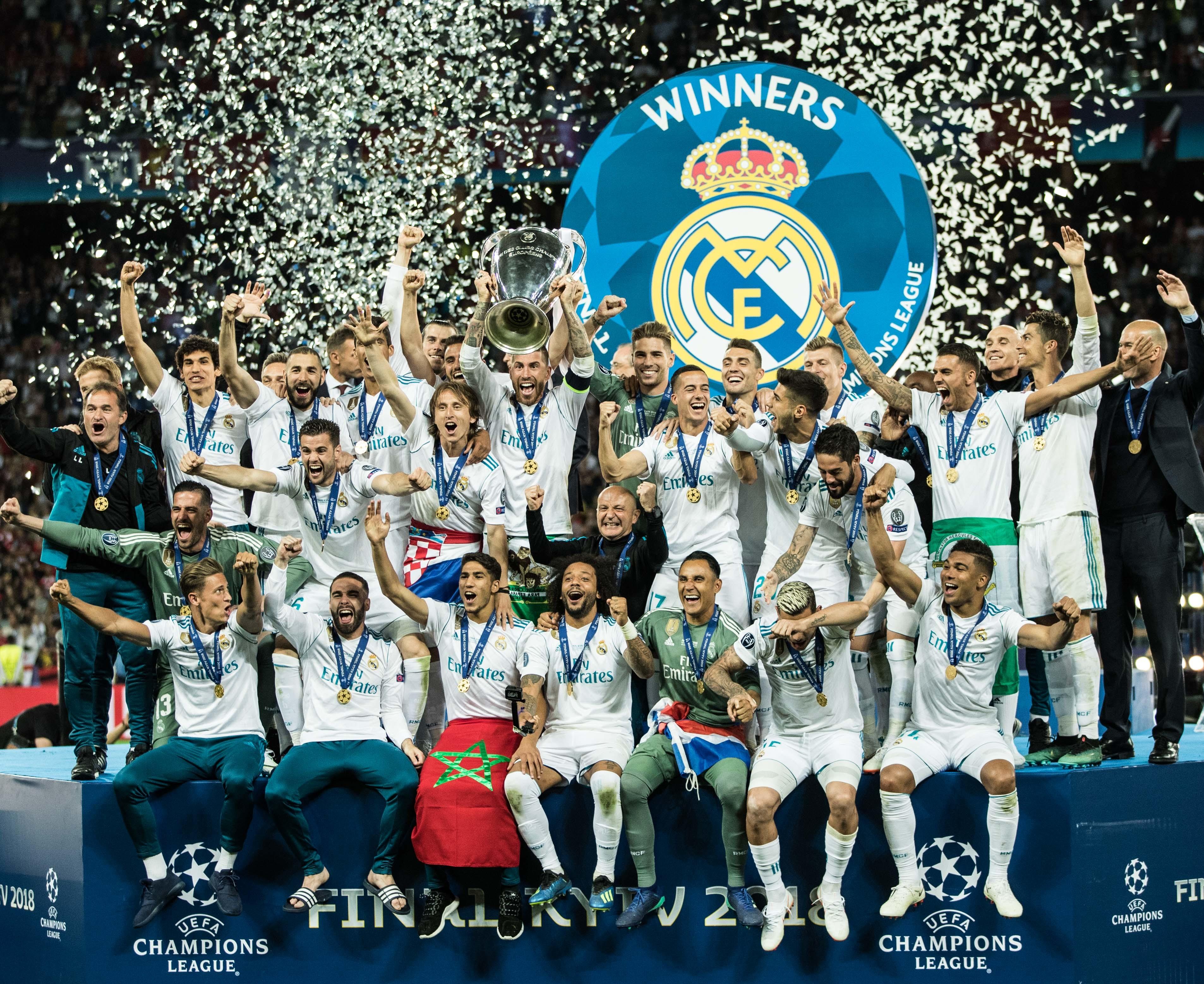 «Реал» признан лучшей командой Европы 2018 года