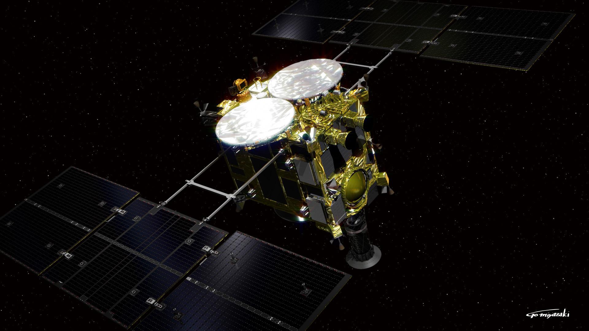 Зонд «Хаябуса-2» готов кпосадке наастероид Рюгу