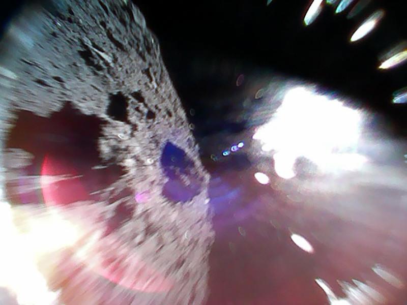 Впервый раз вистории: появились кадры споверхности астероида