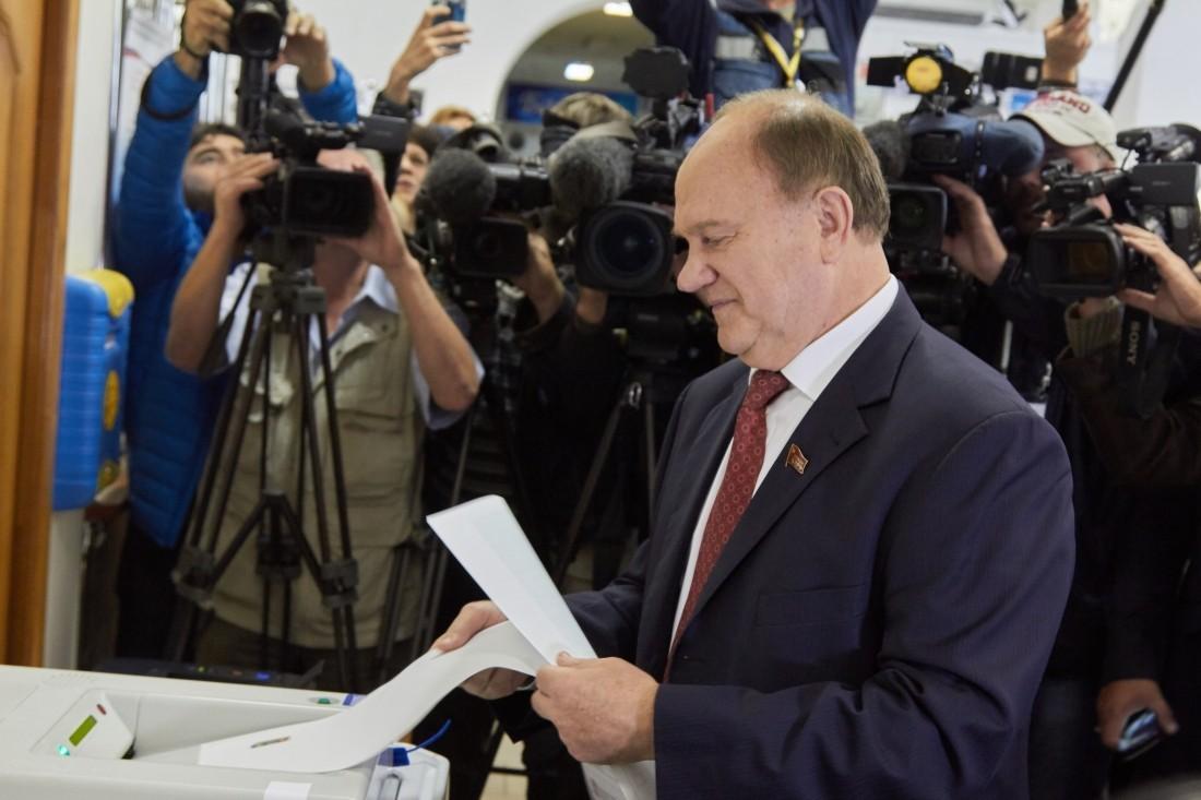 Зюганов сделал громкое объявление  овхождении Донбасса всостав РФ