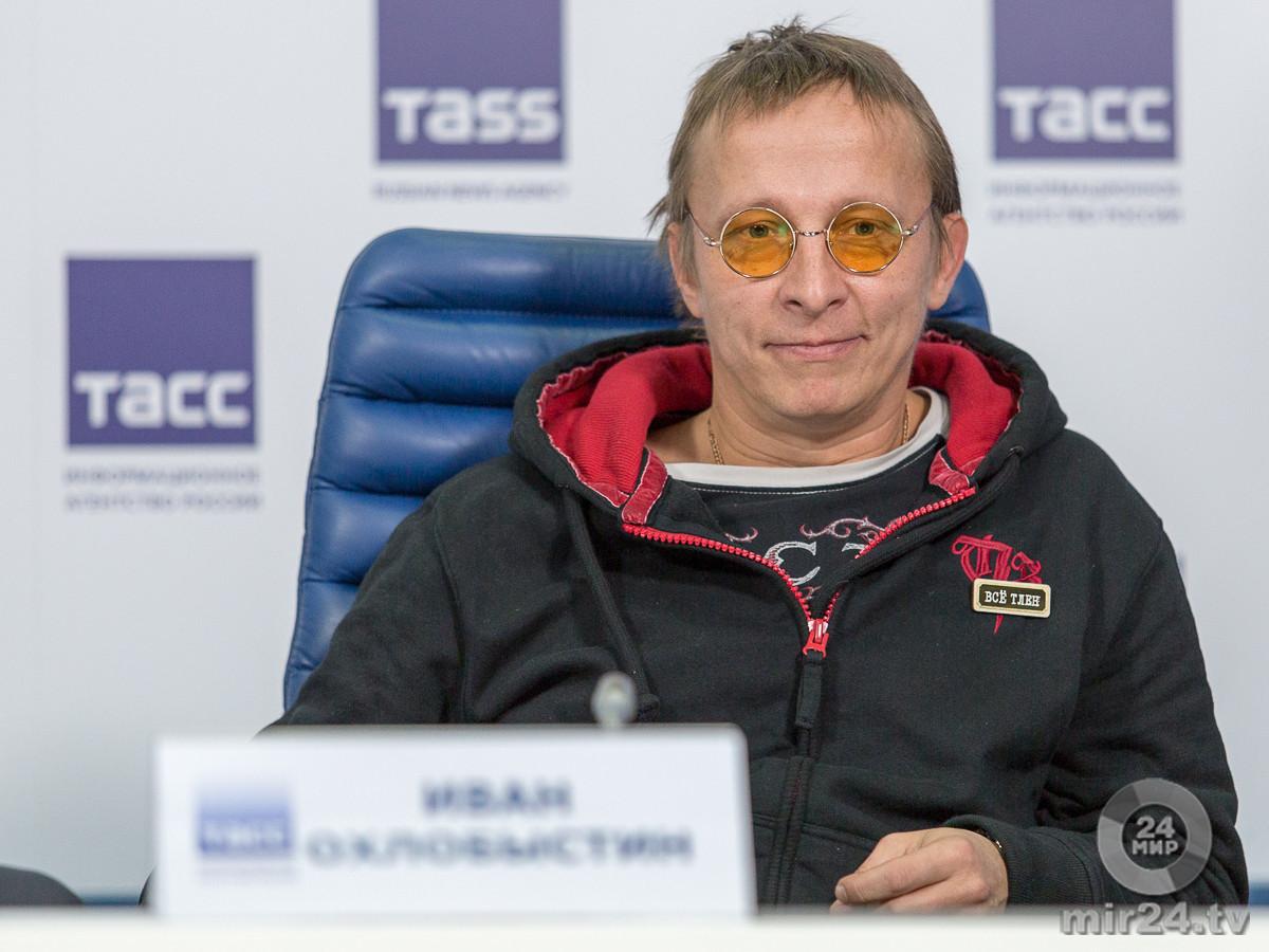 Иван Охлобыстин презентовал книгу, которую писал 20 лет