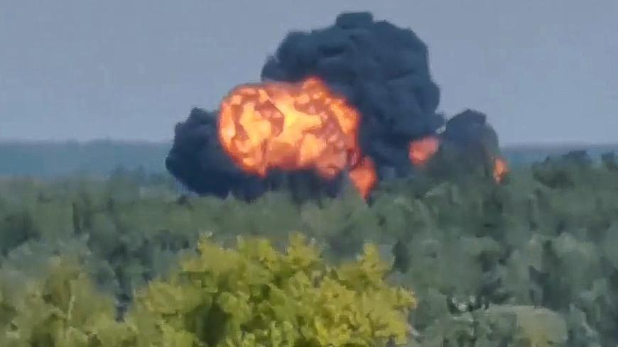 Названы возможные причины крушения вертолета в Московской области