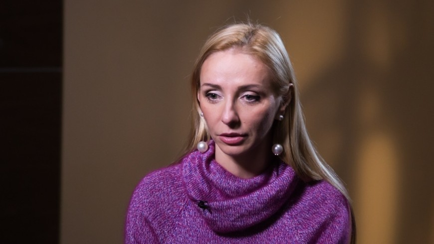 Ледовая принцесса Татьяна Навка