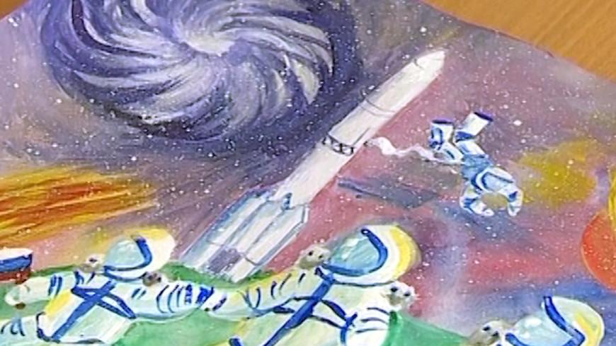 По стопам Гагарина: дети стран Содружества рисуют космос для «МИРа»