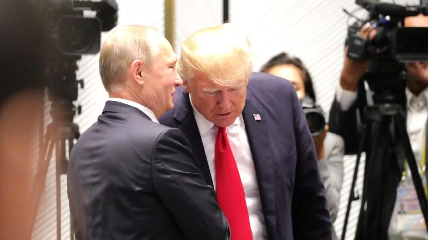 Трамп рассказал о «замечательном» разговоре с Путиным
