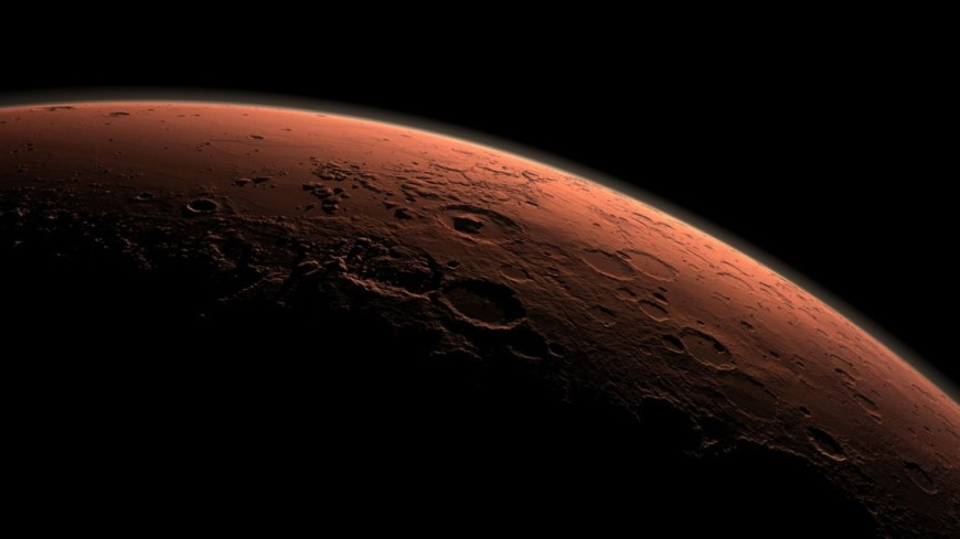 Российско-европейский зонд получил первые цветные снимки Марса