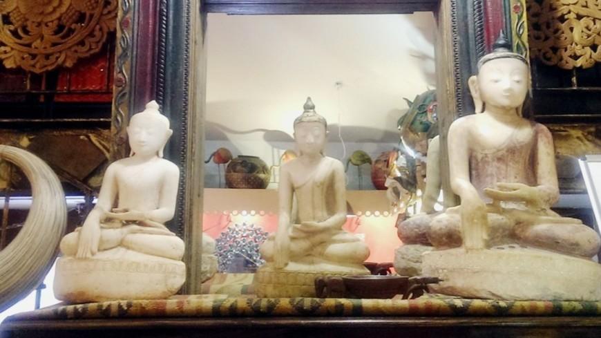 Житель Тбилиси прятал наркотики в статуэтках Будды