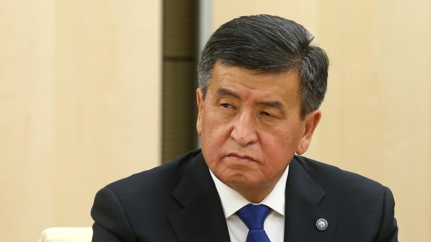 Президент Кыргызстана отправил в отставку правительство