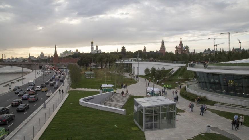 В московском парке «Зарядье» число посетителей выросло вдвое
