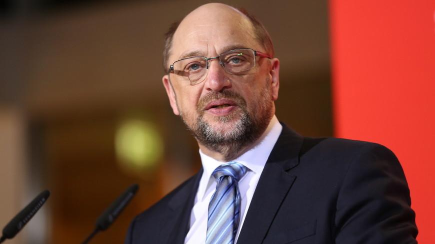 Шульц объявил об отставке с поста главы СДПГ