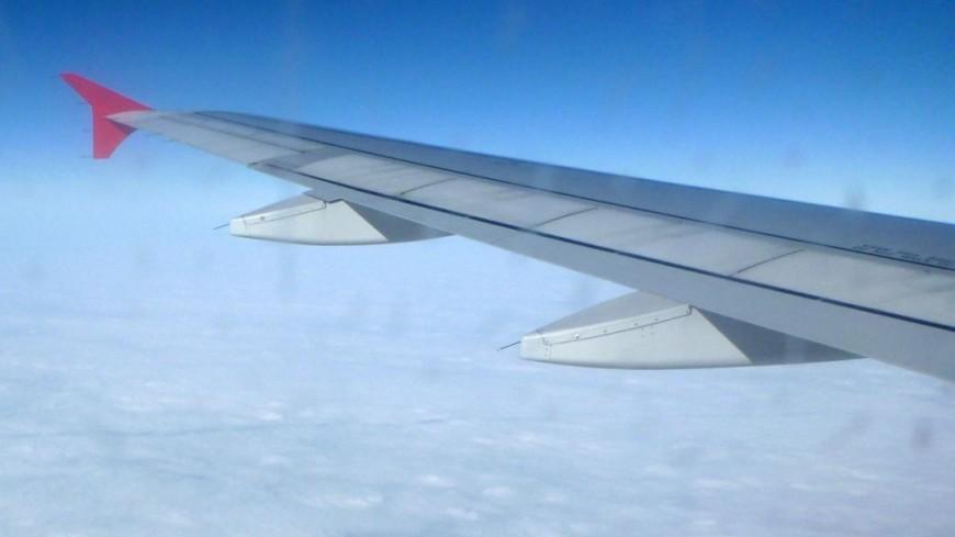 Самолет экстренно сел в Абу-Даби из-за задымления в двигателе