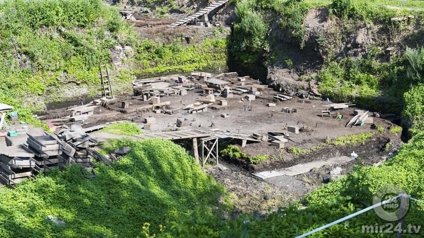 В Воронеже нашли остатки крепости XVII века