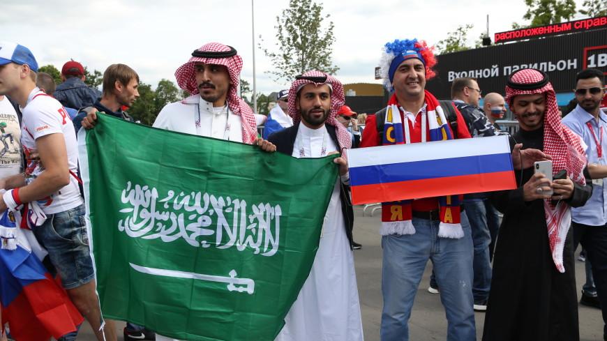 Матч Россия-Саудовская Аравия смотрят Путин и другие мировые лидеры