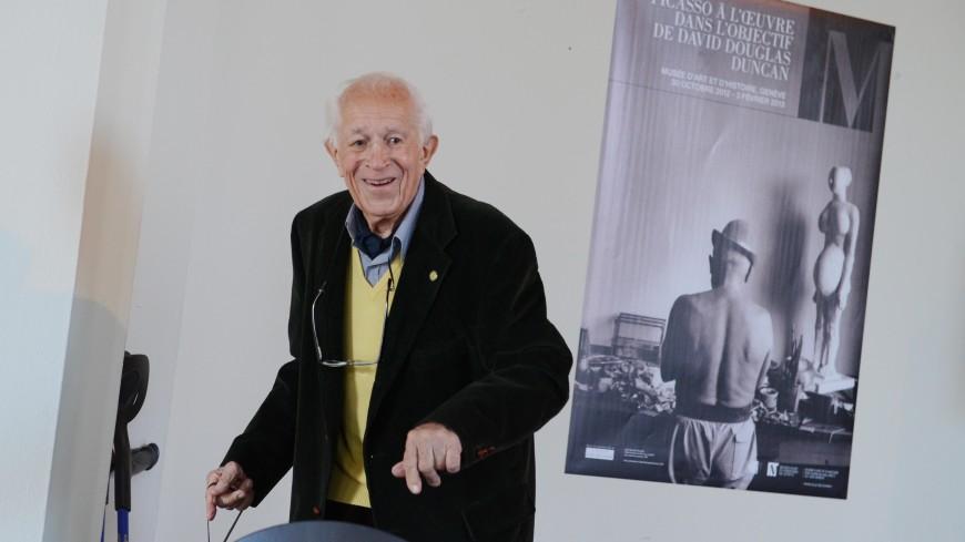 Фотограф Дэвид Дуглас Дункан скончался в возрасте 102 лет