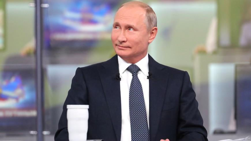«Прямую» линию с Путиным посмотрели почти шесть миллионов россиян