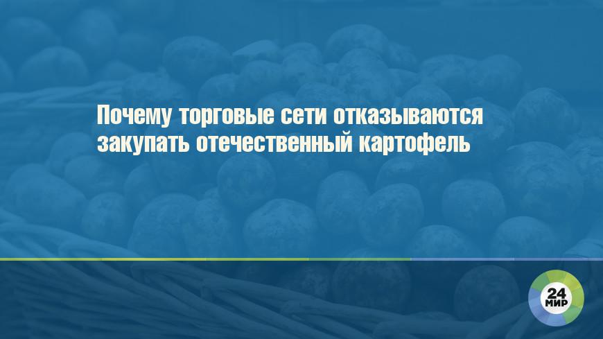 Почему торговые сети отказываются закупать отечественный картофель
