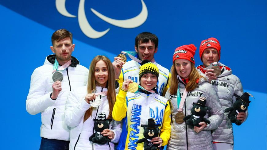 Медальный дождь для российских паралимпийцев