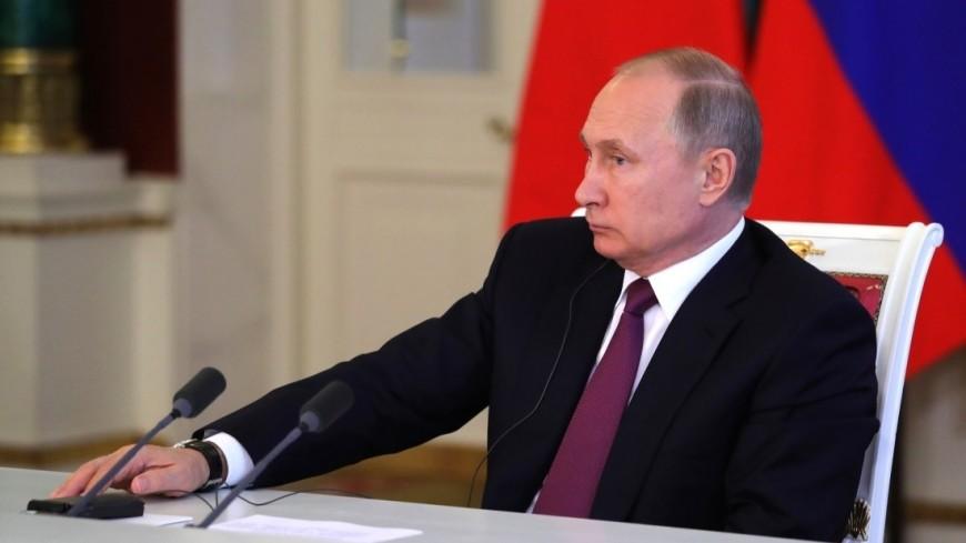 От рыбы до информтехнологий: Путин подписал ряд законов