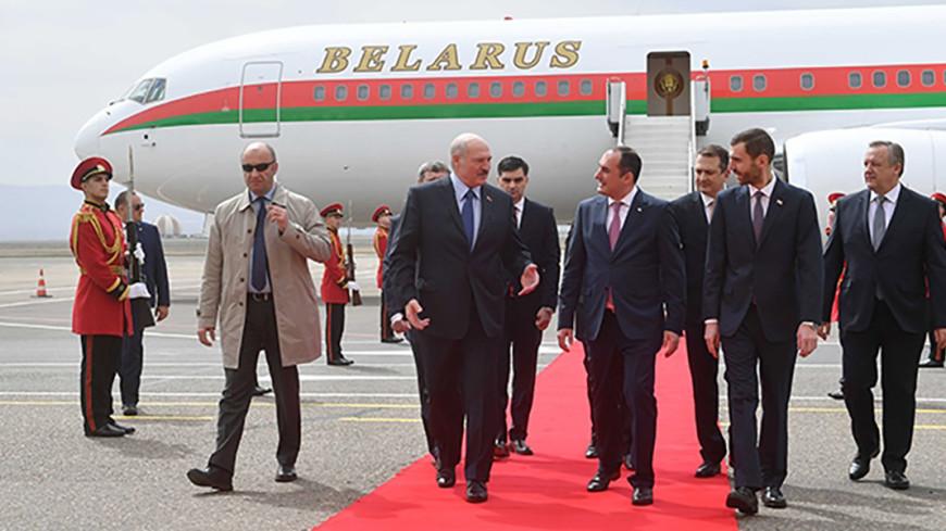 Лукашенко прибыл с официальным визитом в Грузию