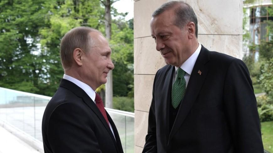Путин и Эрдоган позитивно оценили итоги переговоров о транзите газа через Турцию