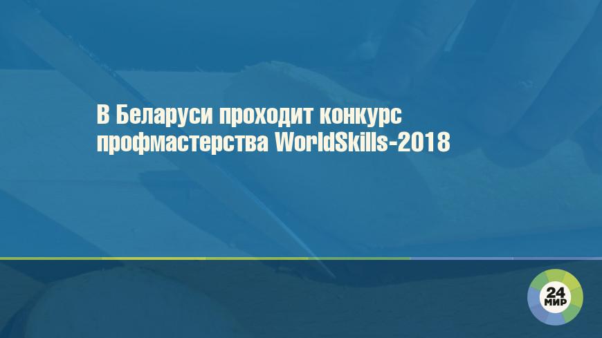 В Беларуси проходит конкурс профмастерства WorldSkills-2018