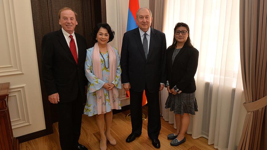 Армен Саргсян: IT-сфера – один из приоритетов экономики Армении