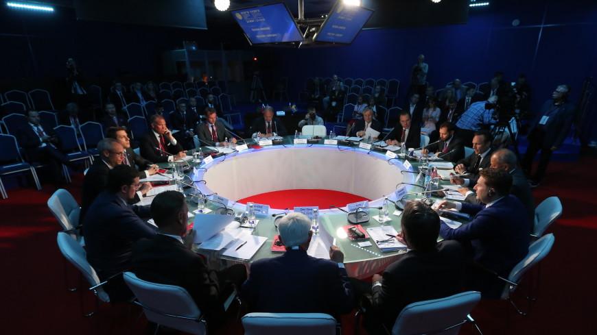 Росконгресс на ПМЭФ договорился о взаимодействии с рядом компаний и объединений