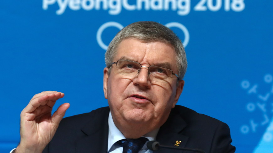 Бах: МОК будет продвигать переговоры Северной и Южной Кореи