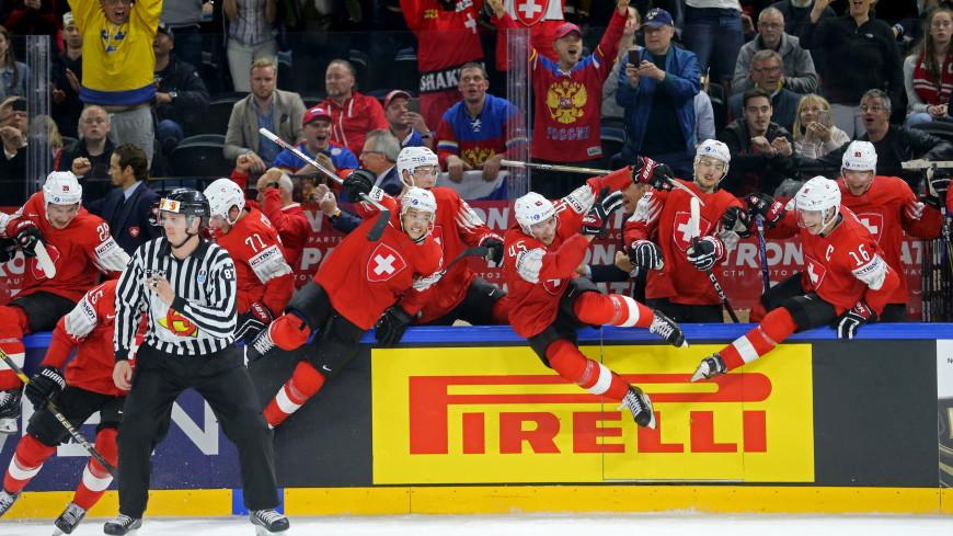 Сборная Швейцарии обыграла Канаду и вышла в финал ЧМ по хоккею
