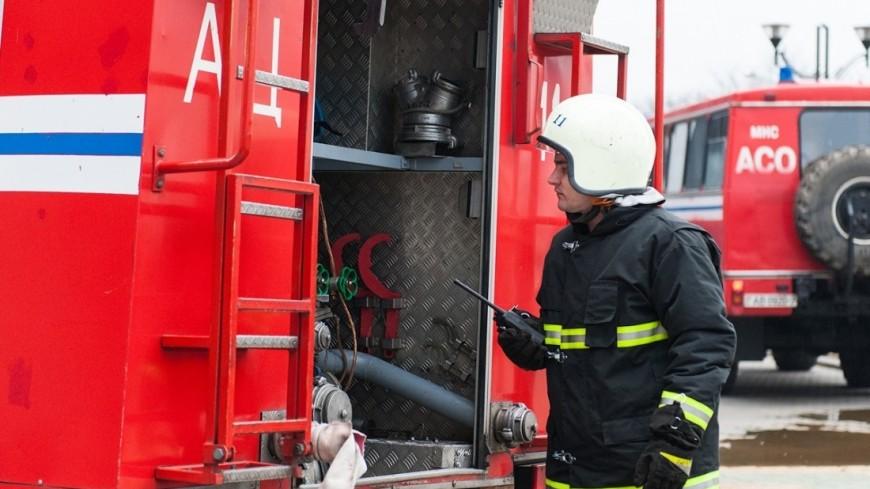 Из школы в Астане эвакуировали 2000 человек из-за пожара